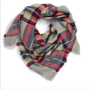 Capelli of New York Plaid Scarf NWOT